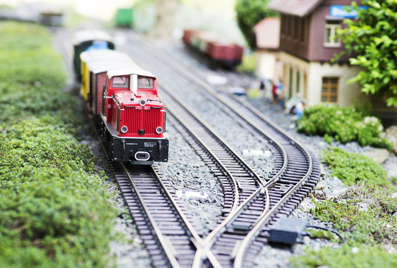 電車と線路